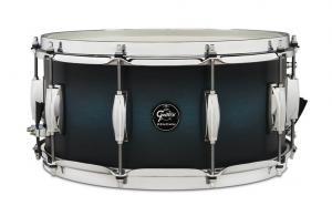 Gretsch Snare Drum Renown Maple, Satin Antique Blue Burst