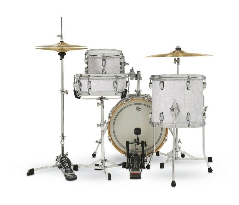 Gretsch shell set USA Brooklyn Micro Kit, White Marine Pearl