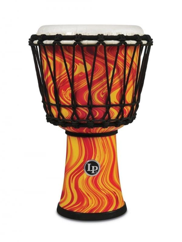 Latin Percussion Djembe Orange Marble, LP1607OM