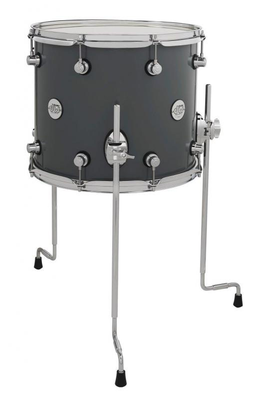 Drum Workshop Floor Tom Design Steel Gray, DDLG1214TTSG