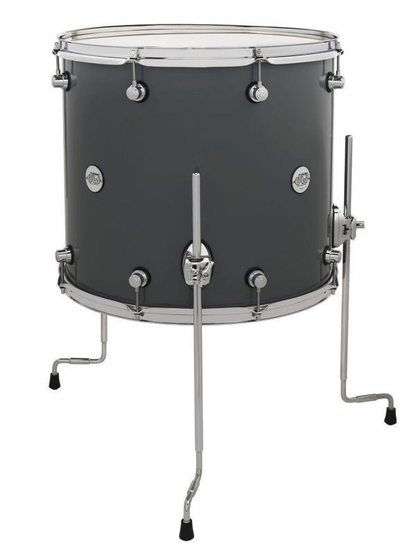 Drum Workshop Floor Tom Design Steel Gray, DDLG1618TTSG