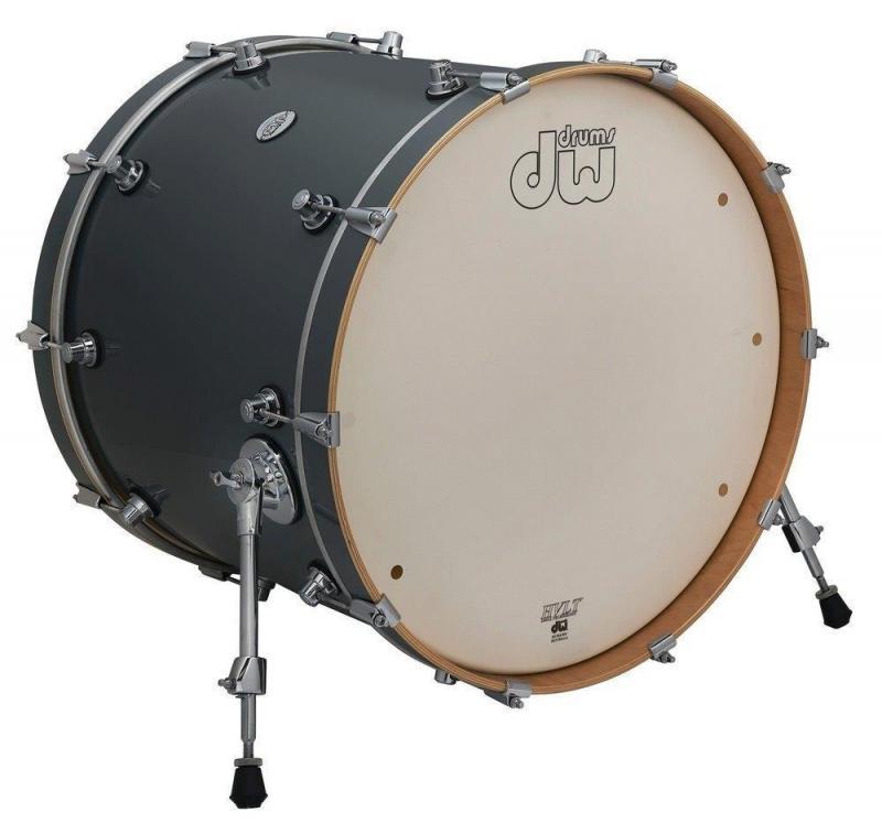 Drum Workshop Bass Drum Design Steel Gray, DDLG1822KKSG