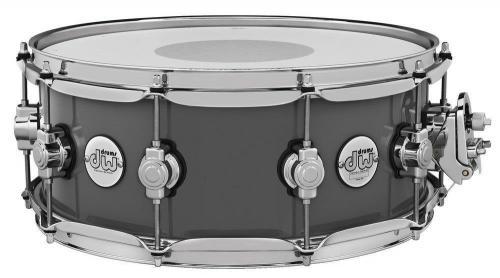 Drum Workshop Snare Drum Design Series Steel Gray, DDLG5514SSSG