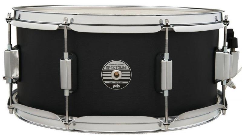 PDP by DW Snare Drum Spectrum Series Ebony Stain, PDST6514SSBK