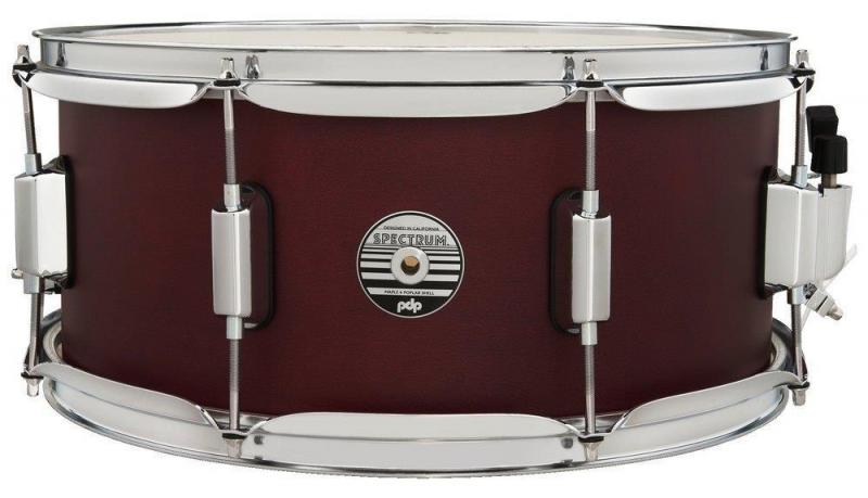 PDP by DW Snare Drum Spectrum Series Cherry Stain, PDST6514SSRD