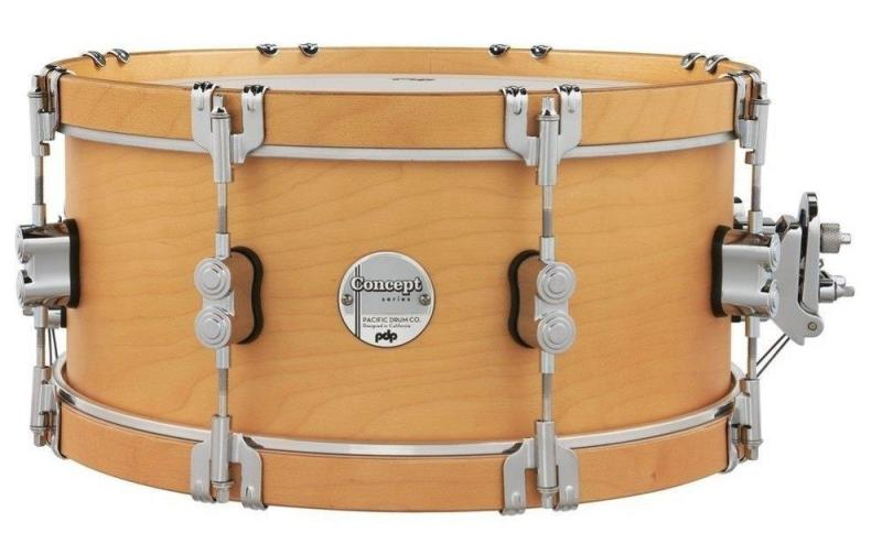 PDP by DW Snare Drum Classic Wood Hoop 14''x6,5'', PDCC6514SSNN