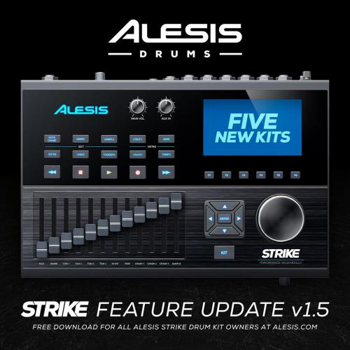 Ny firmware till Alesis Strike