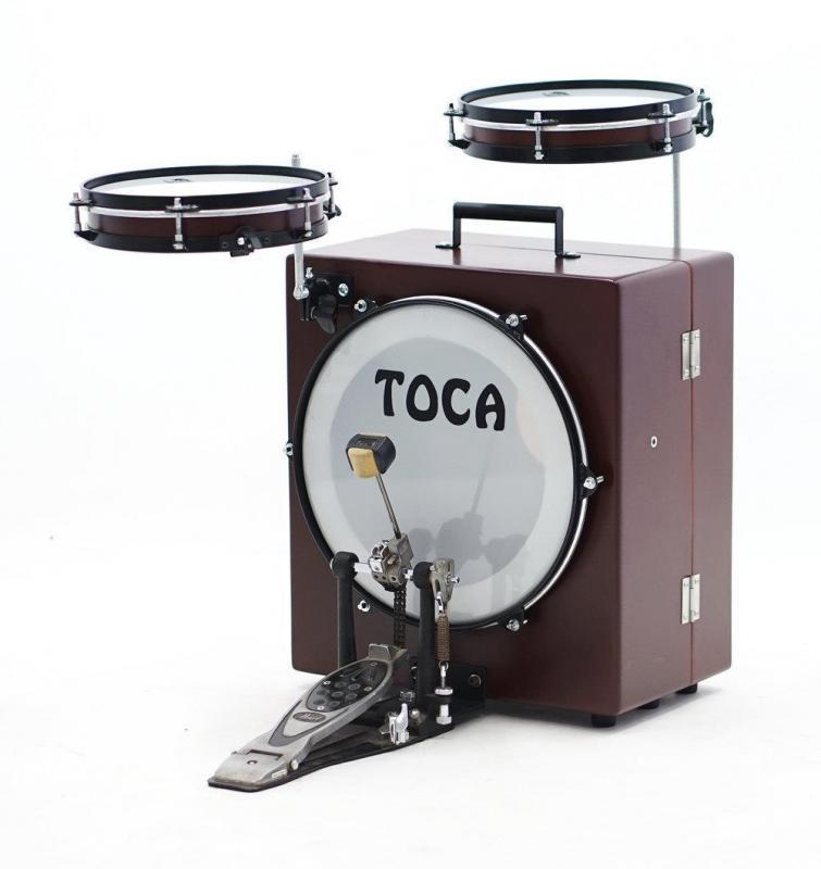Toca World Percussion Kickboxx Suitcase Drum Set , TKSDS