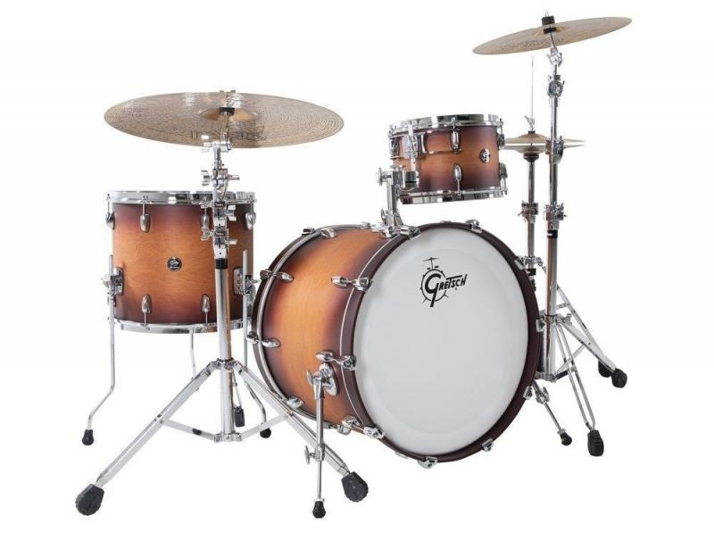 Gretsch shell set Renown Maple Silver Oyster Pearl