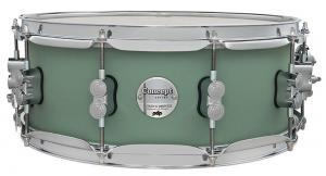 PDP by DW Snare Drum Concept Maple Finish Ply Satin Seafoam, PDCM5514SSSP