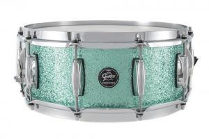 Gretsch Snare Drum Renown Maple Turquoise Premium Sparkle