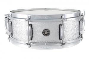 Gretsch Snare Drum USA Brooklyn Silver Sparkle