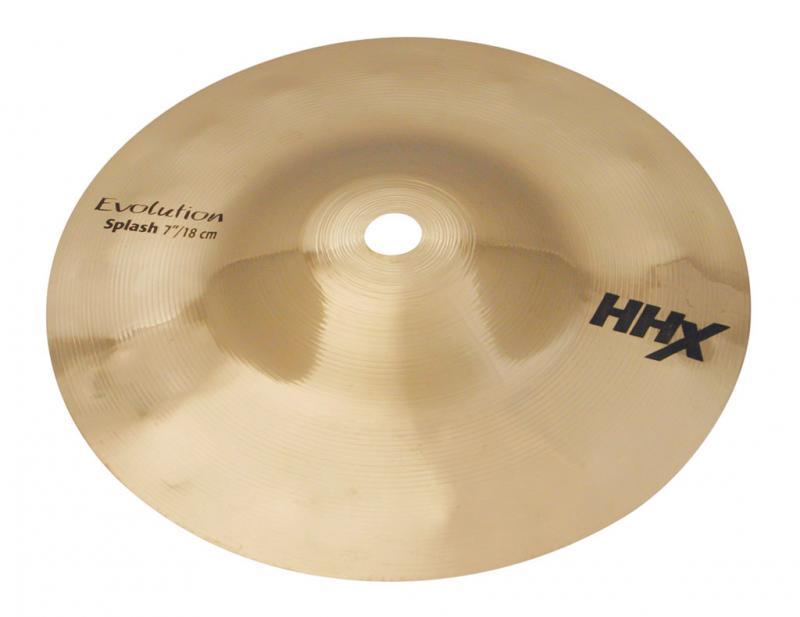 "7"" HHX Evolution Splash Brilliant Finish, Sabian"