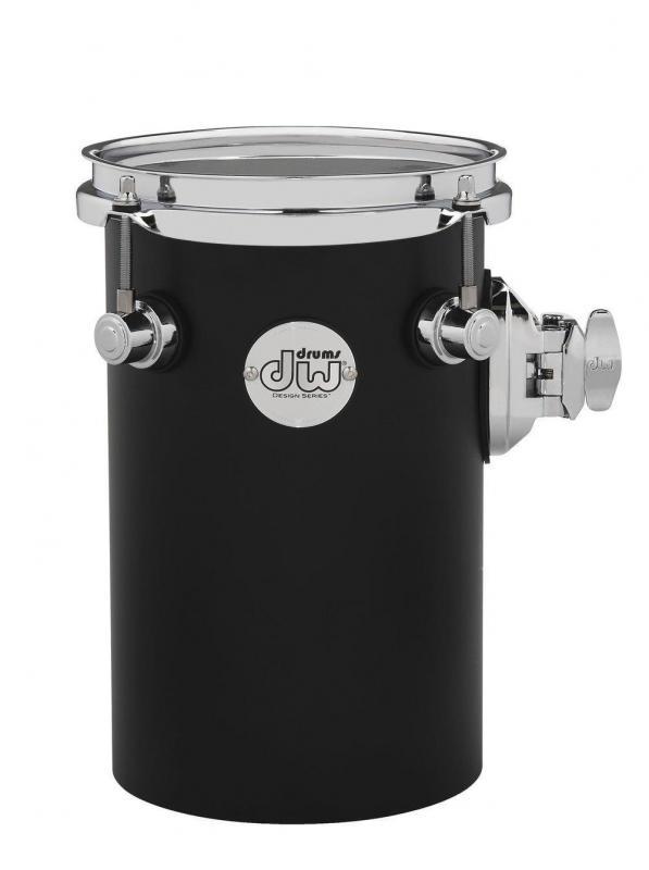 Drum Workshop Rata toms Design Series 6x10'', DDAC1006RTBL