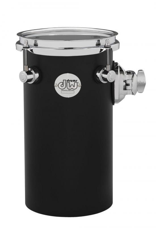 Drum Workshop Rata toms Design Series 6x12'', DDAC1206RTBL