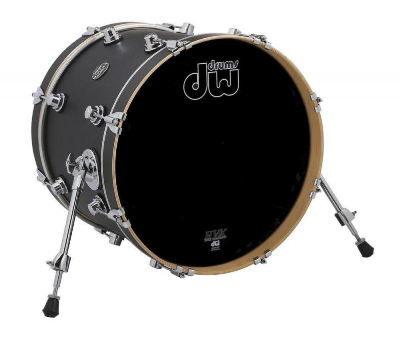Drum Workshop Bass Drum Performance Lacquer Ebony Stain