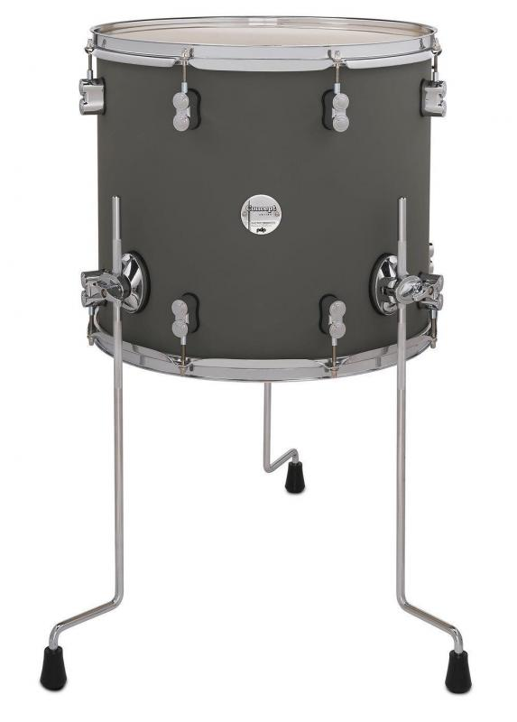 PDP by DW Floor Tom Concept Maple Satin Olive
