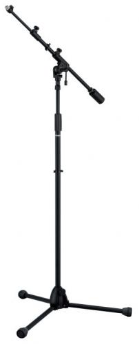 Mikrofonstativ m/teleskop bom, Iron Works Studio Series