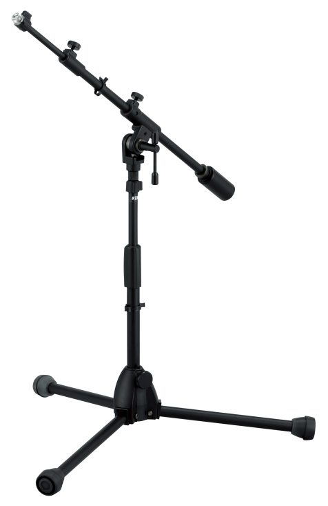 Mikrofonstativ Low m/teleskop bom, Iron Works Studio Series