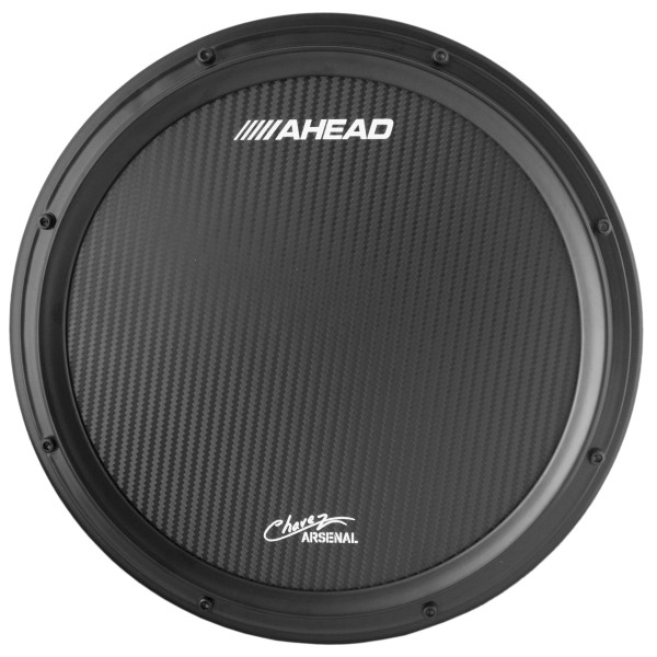 """Ahead 14"""" Chavez Corp Black Marching Snare Pad"""