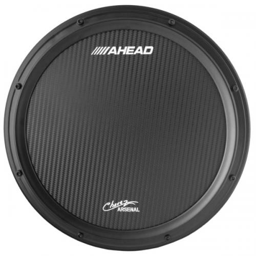 "Ahead 14"" Chavez Corp Black Marching Snare Pad"