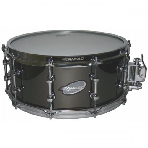 "Ahead 14"" x 6"" Black Chrome on Brass"