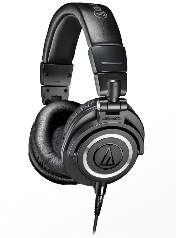 Hörlurar ATH-M50x, Audio Technica
