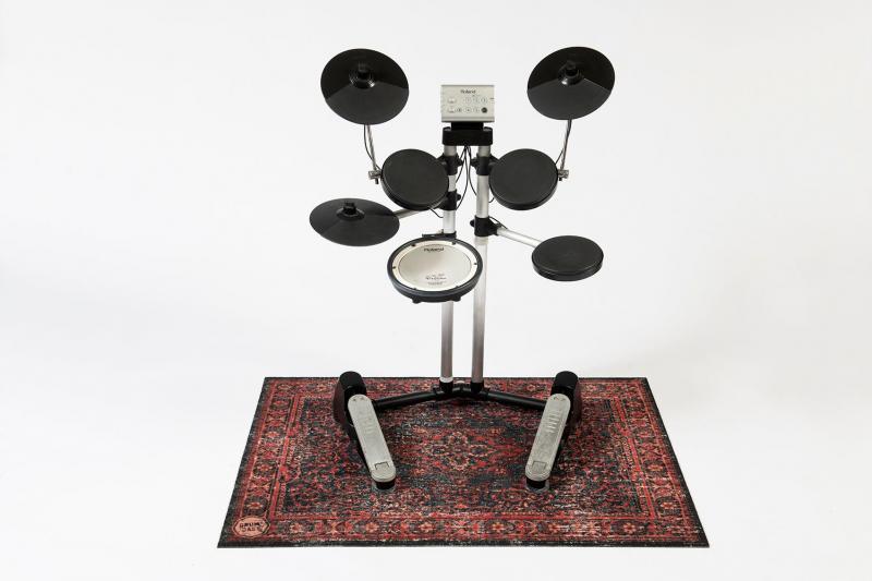 Trummatta Persian Stage Mat Black Red 130×90cm, Drum n Base