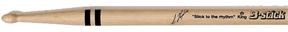 Ian Haugland Signatur, B-stick