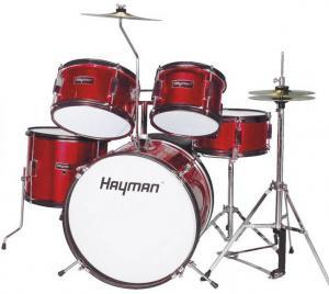 Juniortrummor trumset Röd, Hayman HM-50