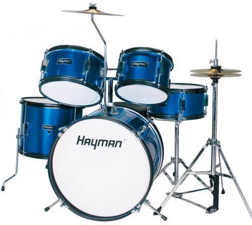 Juniortrummor trumset Blå, Hayman HM-50