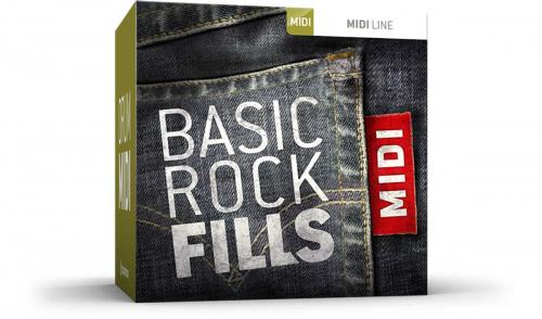 Basic Rock Fills MIDI