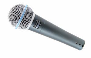 Shure Beta 58A - Sångmikrofon