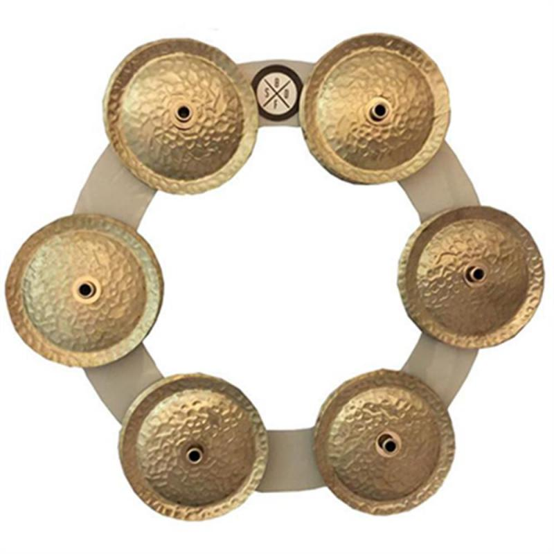 Big Fat Snare Drum  Bling Ring White Copper
