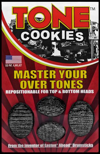 Tone Cookies, dämpare - Svart