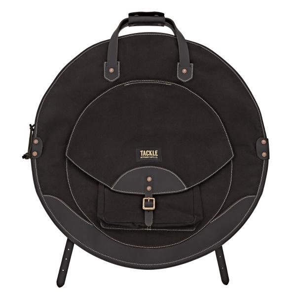 Tackle Backpack Cymbal Case, svart cymbalväska