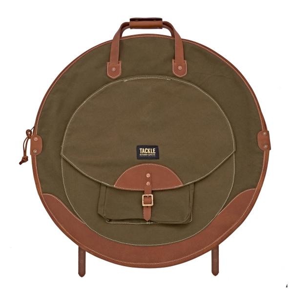 Tackle Backpack Cymbal Case , cymbalväska skogsgrön