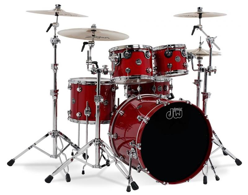 DW Performance, Candy Apple Red - 3-delars set