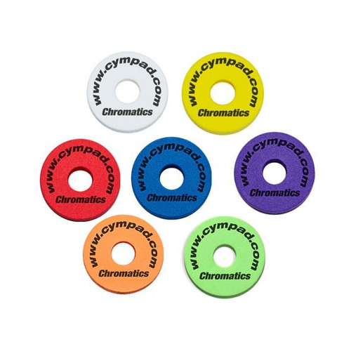 Cympad Chromatics Color Washers (5-pack)
