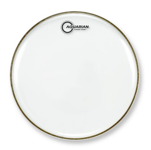 """10"""" Classic Clear Snare Bottom Drumhead, Aquarian"""