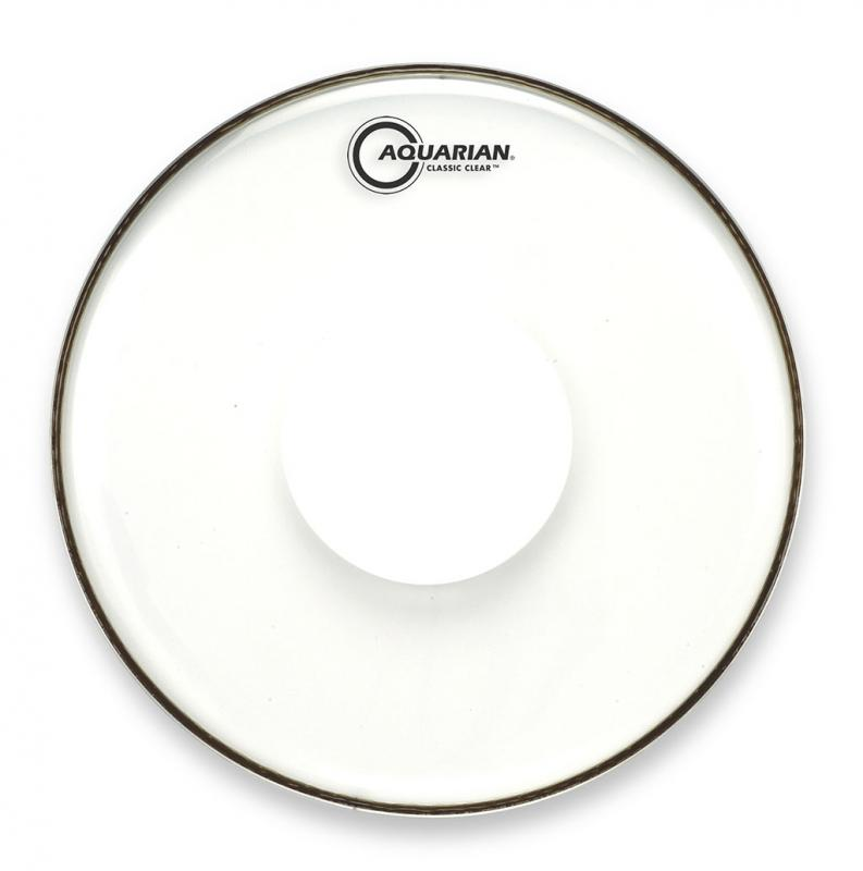 """12"""" Classic Clear With Power Dot, Aquarian"""
