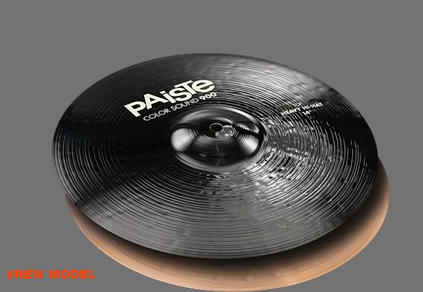 """14"""" Color Sound 900 Black Heavy Hi-Hat, Paiste"""
