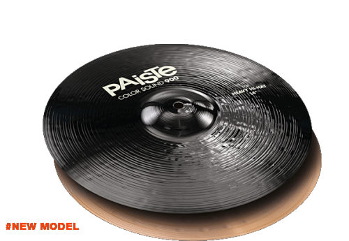 "14"" Color Sound 900 Black Heavy Hi-Hat, Paiste"