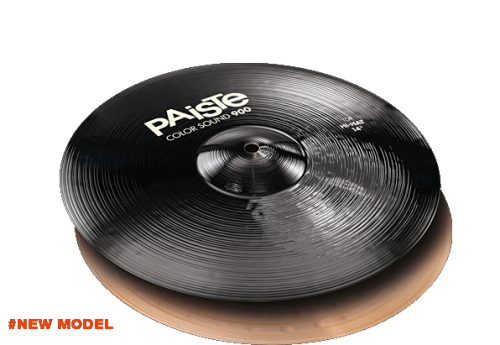 "14"" Color Sound 900 Black Hi-Hat, Paiste"