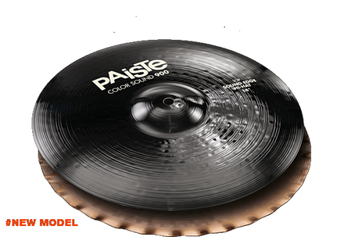"14"" Color Sound 900 Black Sound Edge Hi-Hat, Paiste"