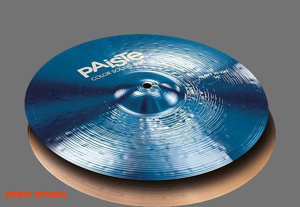 """14"""" Color Sound 900 Blue Heavy Hi-Hat, Paiste"""