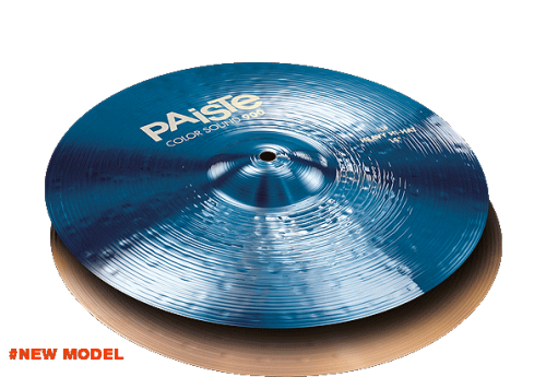 "14"" Color Sound 900 Blue Heavy Hi-Hat, Paiste"