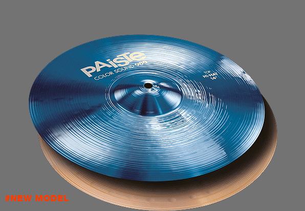 """14"""" Color Sound 900 Blue Hi-Hat, Paiste"""