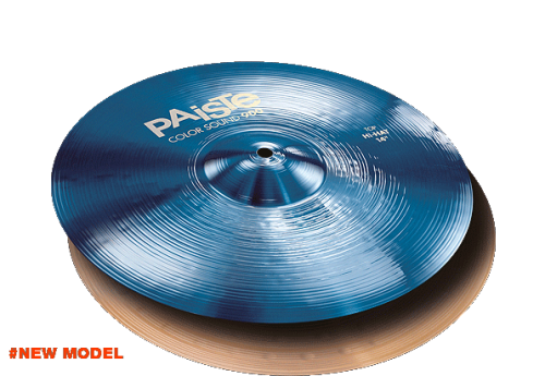 "14"" Color Sound 900 Blue Hi-Hat, Paiste"