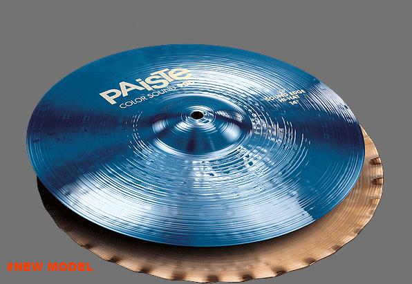 """14"""" Color Sound 900 Blue Sound Edge Hi-Hat, Paiste"""